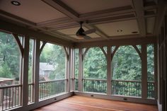 Screened In Back Porch Design Ideas, Pictures, Remodel and Decor