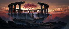 Tree of eternal youth by PiotrDura on DeviantArt