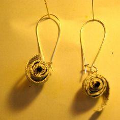 Boucles d'oreille spirale