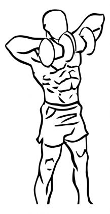 Dumbbell Upright Rows 2