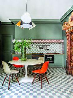 10 cozinhas verdes em diversos tons  Ideias para quem quer sair do comum e investir em uma cor marcante