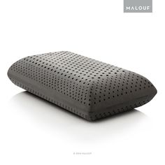 Zoned Dough Memory Foam and Bamboo Rayon Charcoal Pillow