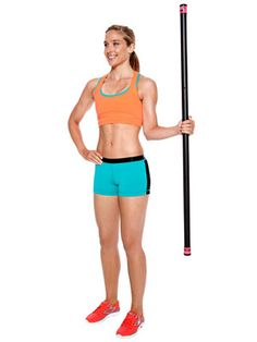 EVERYONE should be doing an exercise or two for their rotator cuff muscles to prevent injury.  You can do this with a dumbebell if you don't have a body bar.