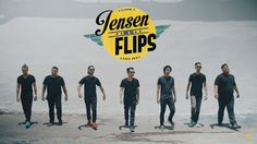Slow - Jensen and The Flips (Official Music Video)
