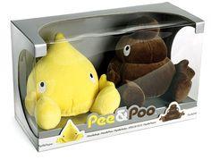 pee and poop stuffed animals