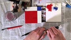 Peignez avec des LEGO