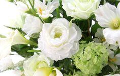 光触媒造花 3200「Royal White バラ 欧風陶器のフラワーアレンジメント」 造花のフラワーアレンジメント 造花ドットコム www.zouka.com