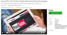 Powerful YouTube Video Remarketing Strategies  http://hii.to/41QxC_Qog  #learn #youtube #remarketing #strategies