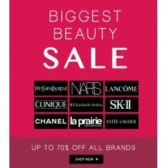 Up to 70% OFF Sale on All Brands @ Fragrances & Cosmetics - Bargain Bro