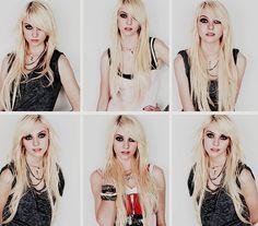 taylor momsen #style #blonde #beauty #grunge