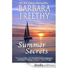 """Summer Secrets by Barbara Freethy. Quick, light Summer read. This is the first novel I've read from Barbara Feethy, but I'm a fan already. For some reason, any book title with the word """"Summer"""" in it calls out to me in the summertime. This one fits my Summer Reading criteria perfectly. Finished it one day :) Synopsis: Eight years ago, Duncan McKenna and his three daughters won a punishing around-the-world-sailboat race. Though Kate, Ashley and Caroline McKenna are haunted by the journey's…"""