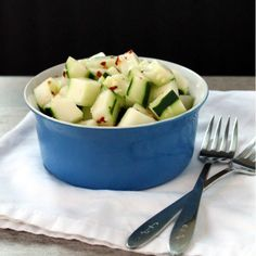 Spicy Ginger Cucumber Salad
