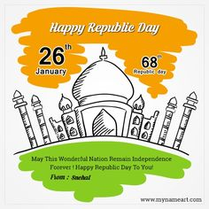 For this 26 January 2020 our Happy Republic Day We share with you Republic day Wishes, 26 January Status, Republic day DP, . Happy Republic Day Shayari, Quotes On Republic Day, India Republic Day Images, Republic Day Message, Republic Day Speech, Republic Day Status, Whatsapp Status For Girls, Quotes For Whatsapp, All Quotes