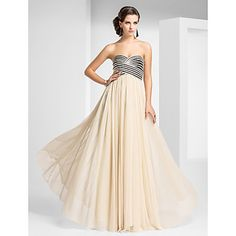 Sheath/Column Sweetheart Floor-length Tulle Evening Dress With Criss Cross And Draping – USD $ 195.99