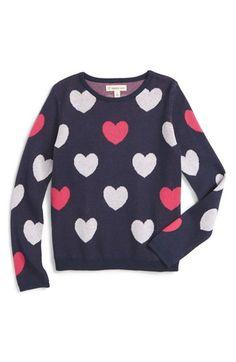 Tucker + Tate Jacquard Sweater (Toddler Girls, Little Girls & Big Girls) available at #Nordstrom