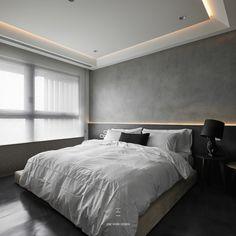 #工一設計 #oneworkdesign #Taipei #住宅空間 #interior #interiordesign #design #인테리어디자인  House Ceiling Design, Ceiling Design Living Room, Bedroom Ceiling, Condo Design, House Design, Design Bedroom, Luxury Homes Interior, Interior Design, Hotel Ceiling