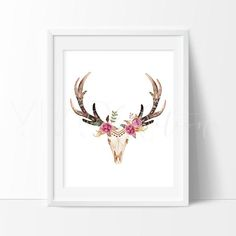 Decorate your nursery with shabby chic boho watercolor art prints for nursery walls from VividEditions, Art Prints For Kids. With a large selection of baby modern art decor.