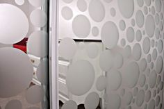 DIY frosted mirrored closet doors