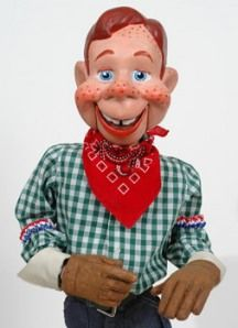 I tried to get Howdy Doody to make a guest appearance on my blog, 10 Minutes of Brilliance, but I couldn't pull the strings.