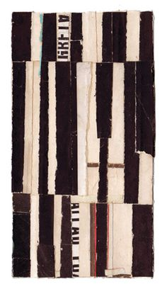 Collage, 'Intermezzo 70', Lisa Hochstein.