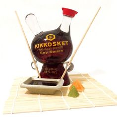 "Sket-One's ""Kikkosket"" Soy Sauce 8-inch Dunny customs"