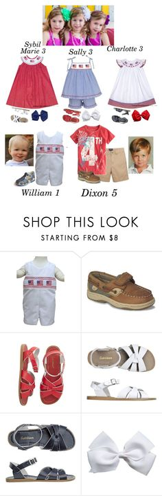 """""""4th of July- The Scotts"""" by my-preppy-family ❤ liked on Polyvore featuring Anavini, Sperry, Salt Water Sandals, Toast and Thescotts"""