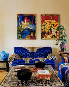 Celebrity Homes: Donatella Versace /Milan/