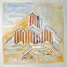 Afbeeldingsresultaat voor schilderijen strandhuisjes