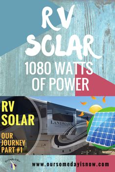 Adding solar to our 5th wheel took a lot of planning.  Follow along as we take it step by step to create 1080 Watts of Power to live off the grid.  Check out the rest of the series. https://youtu.be/z4QsMAusThM https://youtu.be/soHGwqk_pm8 https://youtu.be/23e1graemqA