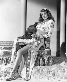 °gilda° Rita Hayworth in a publicity photo for Gilda.