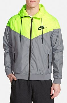 Nike Windrunner Hooded Jacket available at #Nordstrom