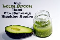 Lean, Green Avocado Hand Moisturizing Machine Recipe