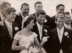 ... United States , married Jacqueline Bouvier in Newport, Rhode Island