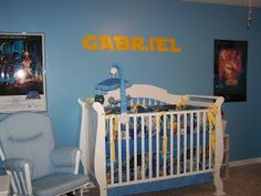 Star Wars Nursery---we like the font of the letters