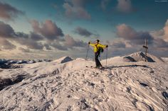 Skitour Falkert - Steinnock - Skitour Falkert - Steinnock The first ski-tour on the first day of the year! Thats a cool thing to do! Ski Touring, Days Of The Year, Mount Everest, Skiing, Things To Do, Tours, Mountains, Sport, Travel