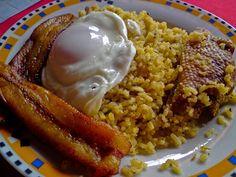 Platos Latinos, Blog de Recetas, Receta de Cocina Tipica, Comida Tipica, Postres Latinos: Majadito de Charque - Comida Y Cocina Tipica Boliviana