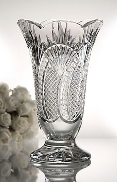 Waterford Seahorse Vase - at Waterford Wedgwood Royal Doulton, San Marcos, TX or call 1-800-203-4540