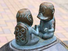 Sakaiminato Mizuki Shigeru Road Kappa Statue 1 - 河童 - Wikipedia