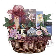 With Deepest Sympathy Gift Basket (bestseller)