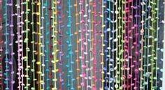Hakelotje spint, breit, haakt en ontwerpt: Vliegengordijn