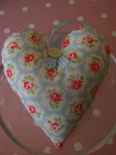 Scented Cath Kidston Heart by Faerie Nuff, via Flickr