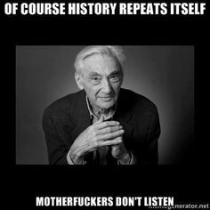 "Howard Zinn, author of ""People's History of the United States"""