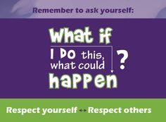Quote reminding kids to think before they act. From a new Talking with Trees book on teaching responsibility, respect, self control.