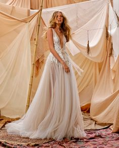 Tulle Wedding, Boho Wedding Dress, Bridal Dresses, Wedding Gowns, Muse By Berta, Berta Bridal, Romantic Lace, Wedding Dress Shopping, Boho Bride