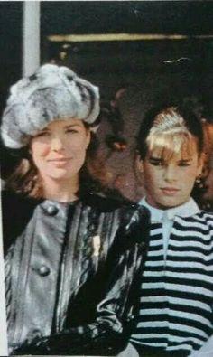 Princess Stephanie, Princess Caroline, Prince Rainier, Monaco Royal Family, House Of Windsor, Grace Kelly, Divas, Royals, Vintage Fashion