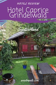 A lovely 3* hotel in Switzerland, Grindelwald a popular destination in summer and winter. Read the review of the wellness hotel.