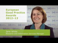 The European Good Practice Awards are an initiative set up by the European Agency for Safety and Health at Work, as part of their campaign for 2012-13 -- 'Working together for risk prevention'.    IOSH is supporting the campaign and is encouraging members to enter this prestigious award to get your excellent work recognised in Europe.     Hear Jane White, IOSH Research and Information Services Manager talk about the awards, what you could win, and what you need to do to enter.