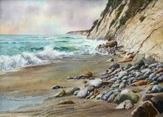 Gaviota Coast by Ray Hunter at Waterhouse Gallery