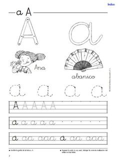 Multitud de fichas de letras Tracing Worksheets, Spanish Worksheets, Spanish Classroom, Home Learning, Teaching French, Alphabet And Numbers, Cursive, School Teacher, Kids Education