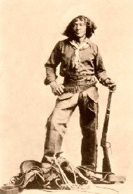 """Nat Love The Greatest Black Cowboy in the Old West. Competed in roping bridling, saddling, and shooting. Winning every competition, hands down, Nat walked away with the $200 prize and the nickname of """"Deadwood Dick."""""""